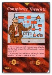 Illuminati Card
