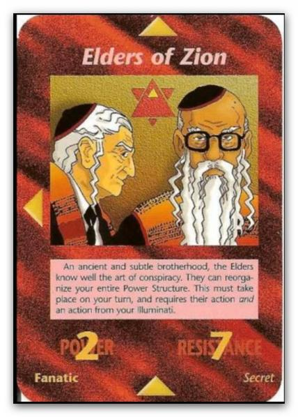 Illuminati Card Elder of Zion