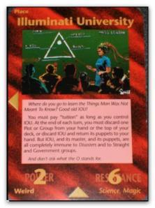Illuminati Card Illuminati University